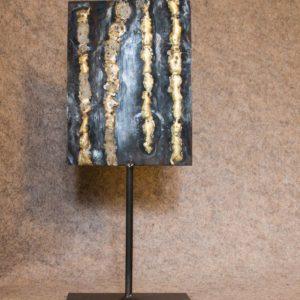Objet métallique de décoration d'intérieur El Dorado n°1