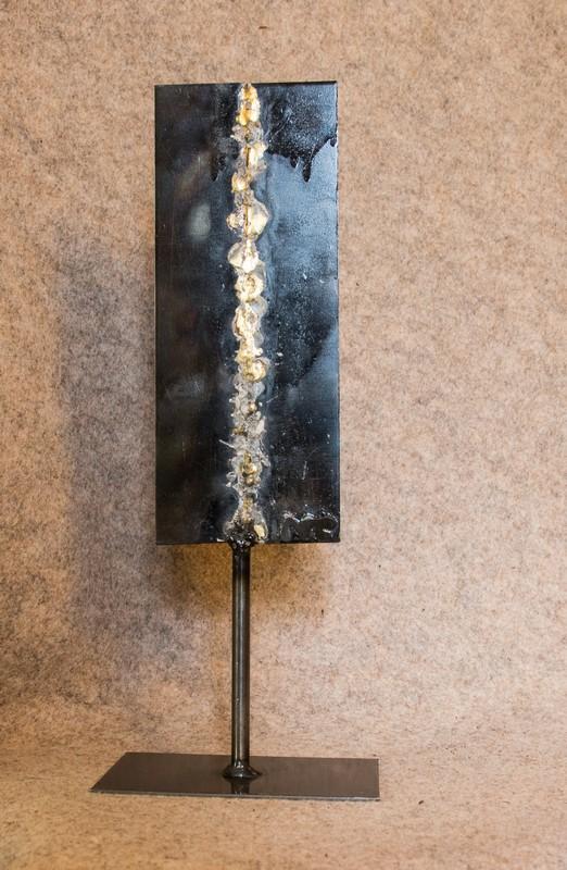 Objet métallique de décoration d'intérieur El Dorado n°3 - Face B