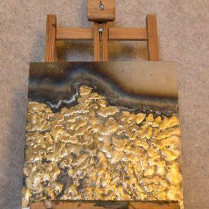 """Tableau métallique """"Fusion"""", une idée de décoration murale"""